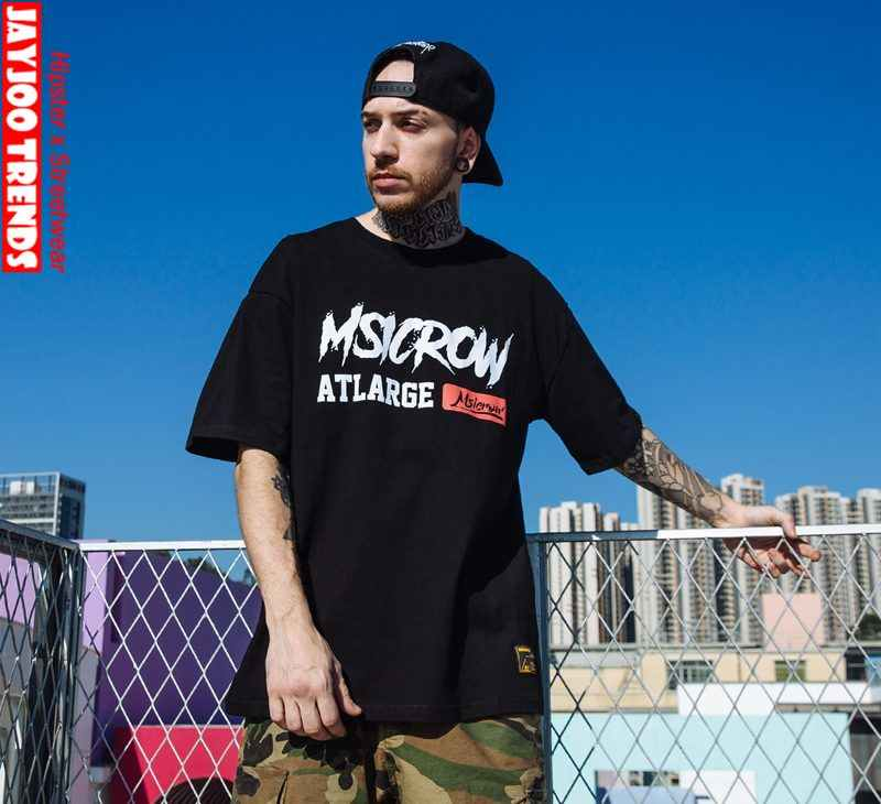 be3e33d4 ... Hip Hop Streetwear Men T Shirts 2019 Chinese Culture Design Tees T- shirts for Teenagers ...