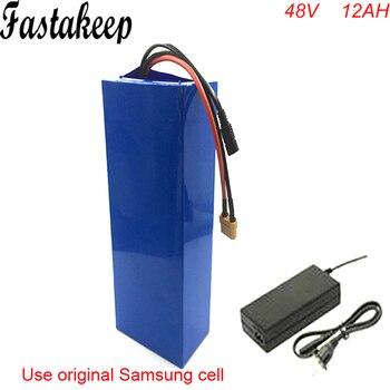 Batería de bicicleta eléctrica 48v 12ah, batería de bicicleta, bicicleta eléctrica, velo,...