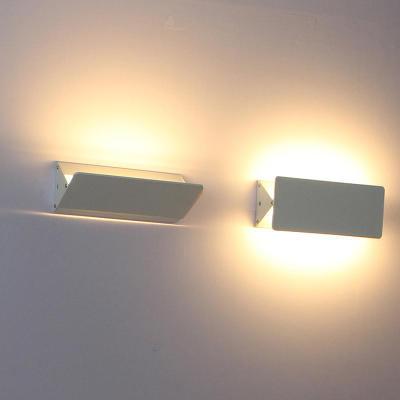 Lámpara de pared LED montada en superficie ajustable, lámpara de pared interior, aplique de pared decorativo, tamaño 150 mm, 200 mm, 310 mm