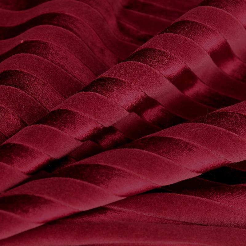 1Yard 91*107cm,Red Cotton Velvet Corduroy Fabric for Dress ...
