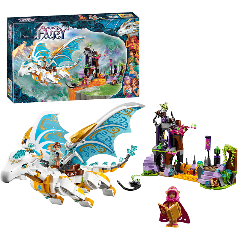 Bela 10550 Elves Queen Dragon's Rescue building Blocks Bricks Toys for children Toys Compatible with Decool Lepin 41179 10551 elves ragana s magic shadow castle building blocks bricks toys for children toys compatible with lego gift kid set girls