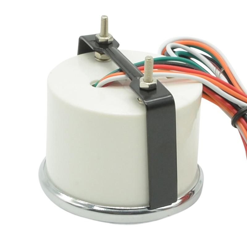 Naga gauge Putih Shell Lensa Asap 52mm Auto Mobil Turbin Minyak - Suku cadang mobil - Foto 5