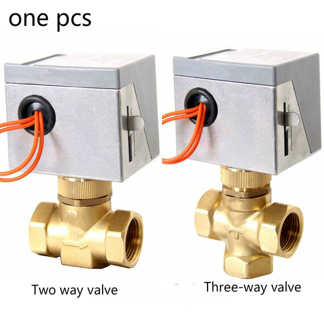 2 Way Vs 3 Valve Kicker Cvr Dvc Wiring Diagram 220v Electrical Wires For Solar Water Air Conditional Fan Coil Dn15 Dn25