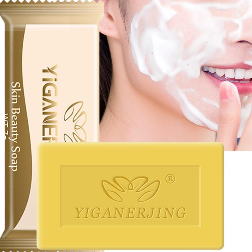 US $0 7 40% OFF 5PCS YIGANERJING Sulphur Soap Helps Skin Resist Fungus  Treatment Acne Psoriasis Eczema Bath Soap Beauty Health-in Soap from Beauty  &