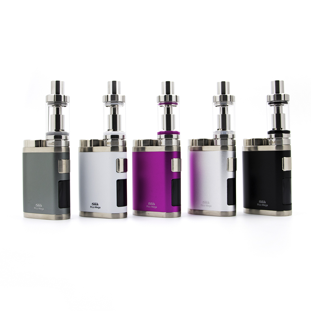 IStick Pico Mega Kit By Eleaf Come With Melo Lll Atomizer Compatible With Both 26650 And