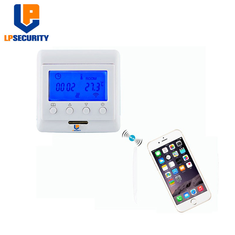 LPSECURITY Smart Home - Z-Wave Thermostat For Floor Heating TZ1036 868.42Mhz EU Frequency
