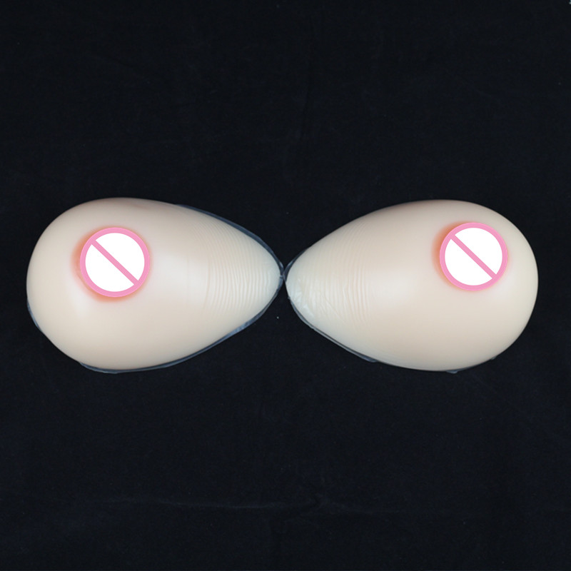 500g/Pair B/C Cup Best Fake Breast Enlargement Naturally Silicone Breast forms For Corssdress Underwear Shemale Silicone Boobs brand new b c b c cup