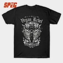 """""""Vegan Rebel"""" men's t-shirt / 3 Colors"""