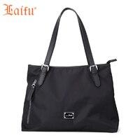 Laifu Fashion Women Handbag Casual Women Tote Daily Shoulder Bag OL Work Shopping Travel Black