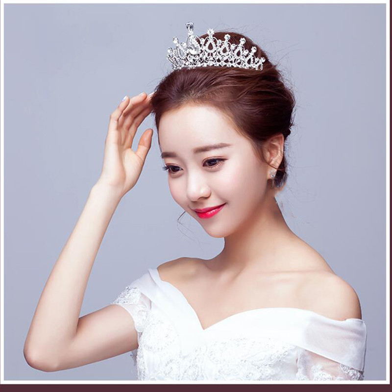 Hair Accessories Korean Flower Bridal Luminous Crown Women Brithday Party Hair Decoration Wedding Led Light Tiara Queen Crown Christmas Girl