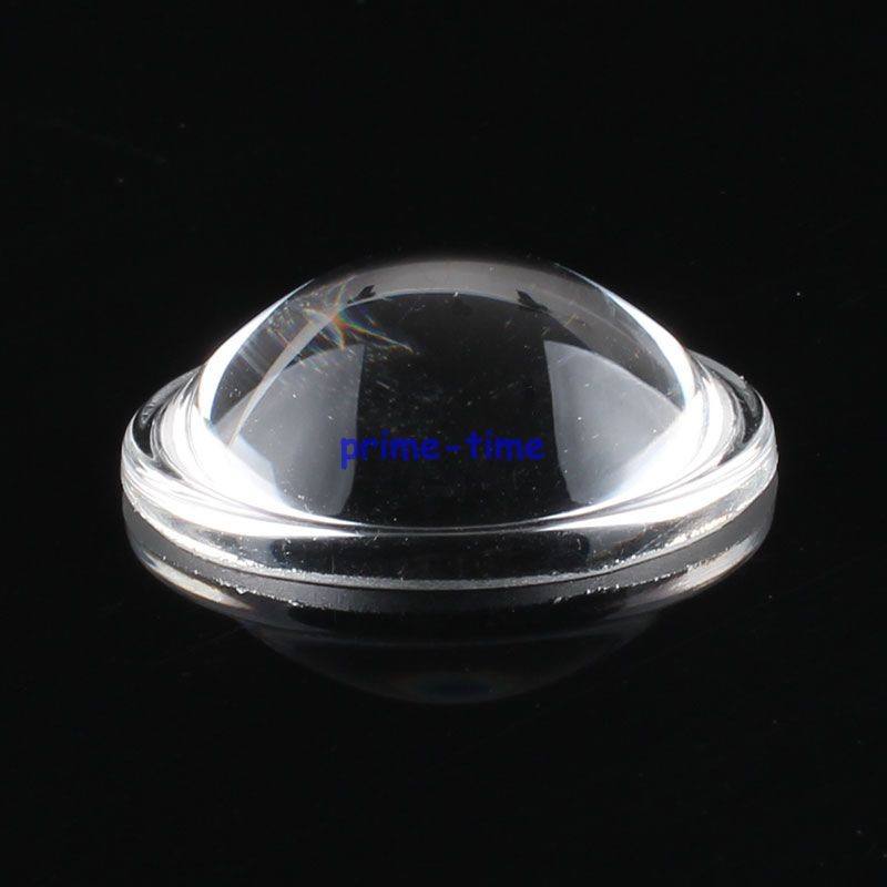 1 PC Haute Puissance DEL 28 mm Convex Lens Optical Glass DEL Lens