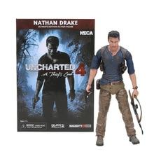 15cm NECA Uncharted 4 גנב של סוף דמויות נתן Darke אולטימטיבי מהדורת PVC פעולה איור אסיפה דגם צעצוע