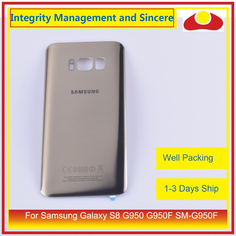 Image 2 - Original For Samsung Galaxy S8 G950 G950F SM G950F Housing Battery Door Rear Back Glass Cover Case Chassis Shell-in Mobile Phone Housings & Frames from Cellphones & Telecommunications
