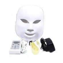 7 цветов Led Light прибор для фототерапии уход за лицом омолаживатель для лица Корейский Led маска терапия