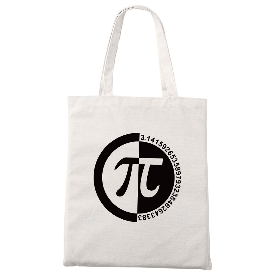Geek Tote Bags Things Just Got Real Math Element Shopping Bags Men Shopping Travel Canvas Bags