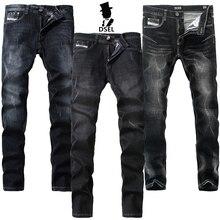 Опрятный бренд Для мужчин S Джинсы для женщин Uomo Брюки для девочек с логотипом тонкие эластичные узкие G702 тонкий Стонга стрейч G707 тонкий рваные G709 черные джинсы Для мужчин