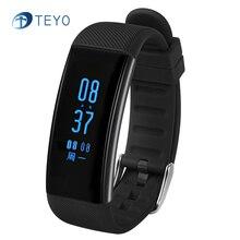 Teyo Smartband DB03 Heart Rate Monitor Водонепроницаемый Шагомер Напоминание Сообщение Pulsera Inteligente Носимых Устройств Android iOS