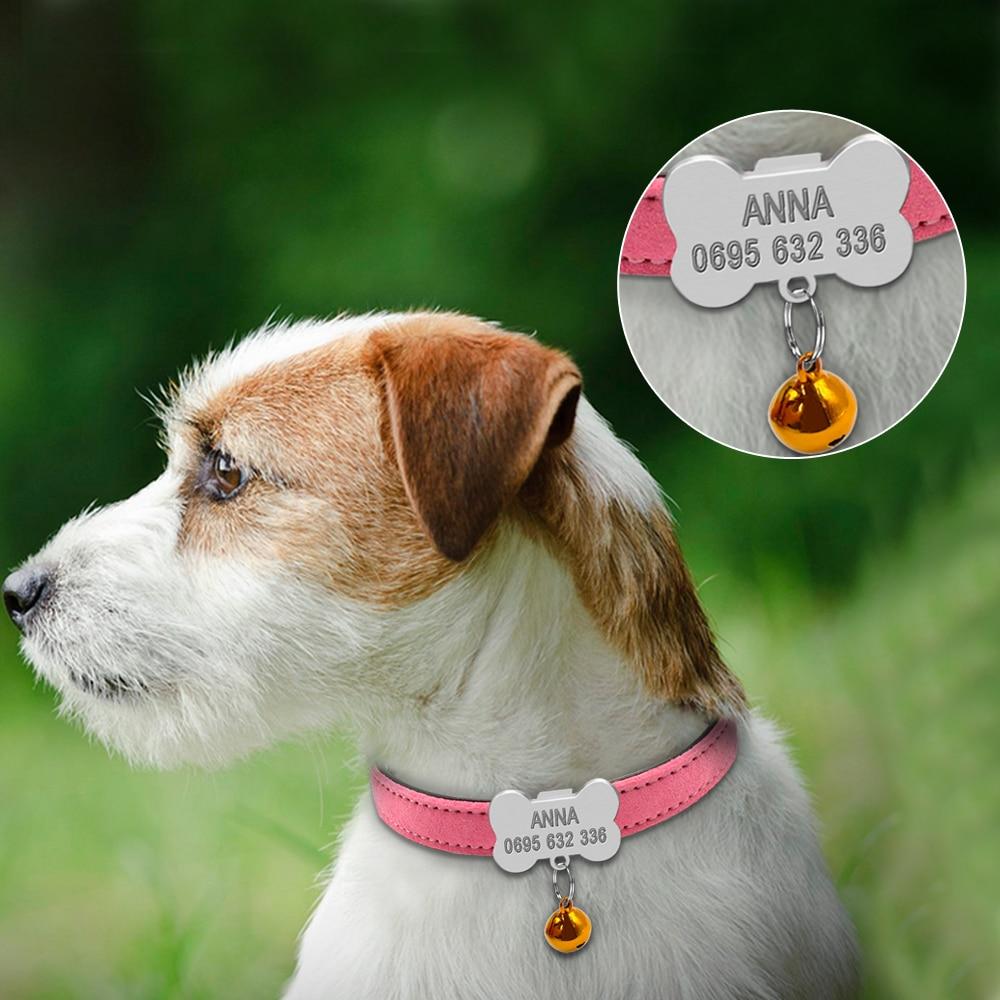 Osebne pasje ovratnice po meri Chihuahua psiček Mačka ovratnica ID - Izdelki za hišne ljubljenčke - Fotografija 3