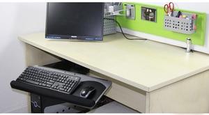 Image 5 - LK06A人間工学スライド傾斜xlサイズリストレストとキーボードホルダーつのマウスパッドデスクキーボードトレイスタンド