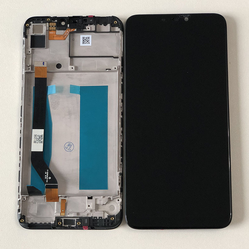 Axisinternational For 6 0 ASUS ZenFone Max M2 ZB633KL X01AD LCD Display Screen Touch Panel Digitizer