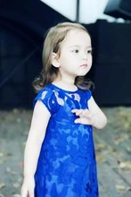 Girl Summer Brand Princess Lace Robe Dress