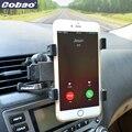 New Black Universal 360 Graus Car Air Vent Mount Cradle Suporte suporte Para Celular Smart Phone GPS 7 de polegada Tablet Almofadas