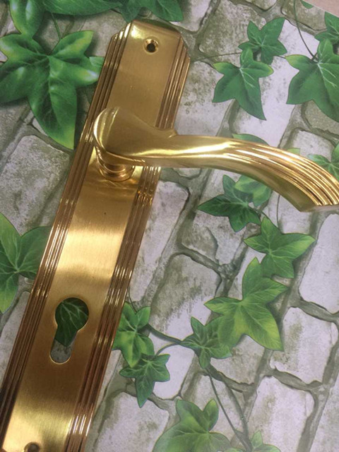Factory outlets] odd-resistant door handle lock door lock wood door room door key copper conductors and copper