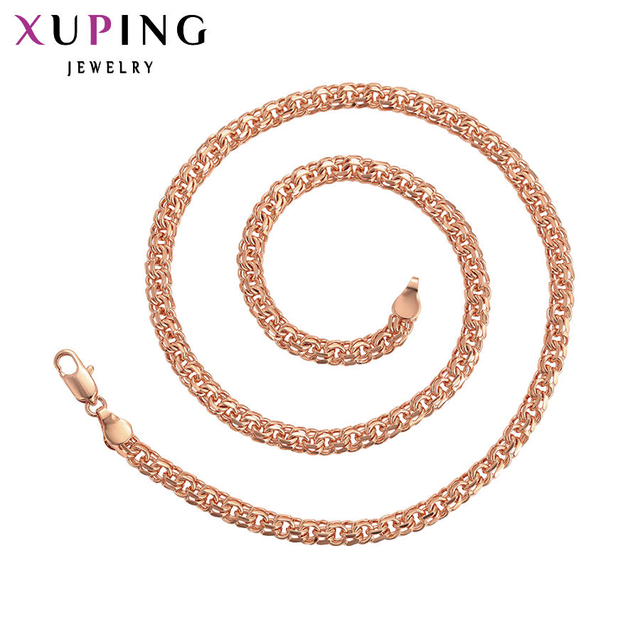 Best buy ) }}11.11 Deals Xuping Luxury Fashion Necklace Charm Style Long Necklace Chain Women