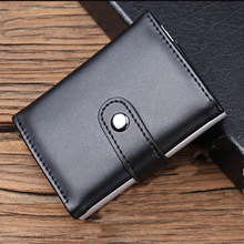 Maideduod 2019 Men And Women Genuine Leather Credit card Case Pocket Box Business ID Card Holder Cover Birthaday Gifts