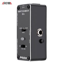 AROMA AMX-3 MATCHBOX D.I. Transfer Guitar or Bass Signal Directly to Audio System Mini Analogue Effect Pedal True Bypass(China)