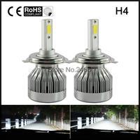 60W 6000LM H4 LED Light Headlight Vehicle Car Hi Lo Beam Bulb Kit 6000k White