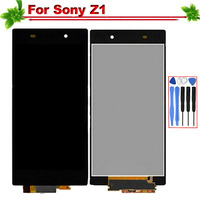 for Sony Xperia Z1 L39H C6902 C6903 C6906 LCD Display Touch Screen Full Assembly Replacement for SONY Xperia Z1 With tools