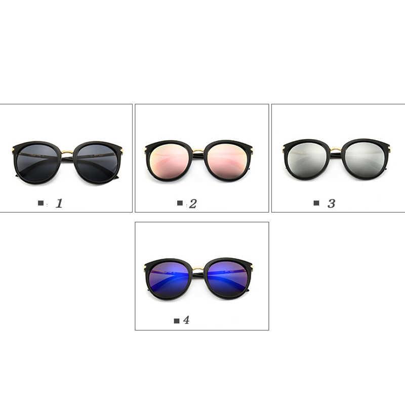 2019 новые женские очки для вождения зеркала Винтаж для женщин Светоотражающие Плоские линзы солнцезащитные женские очки оculos UV400