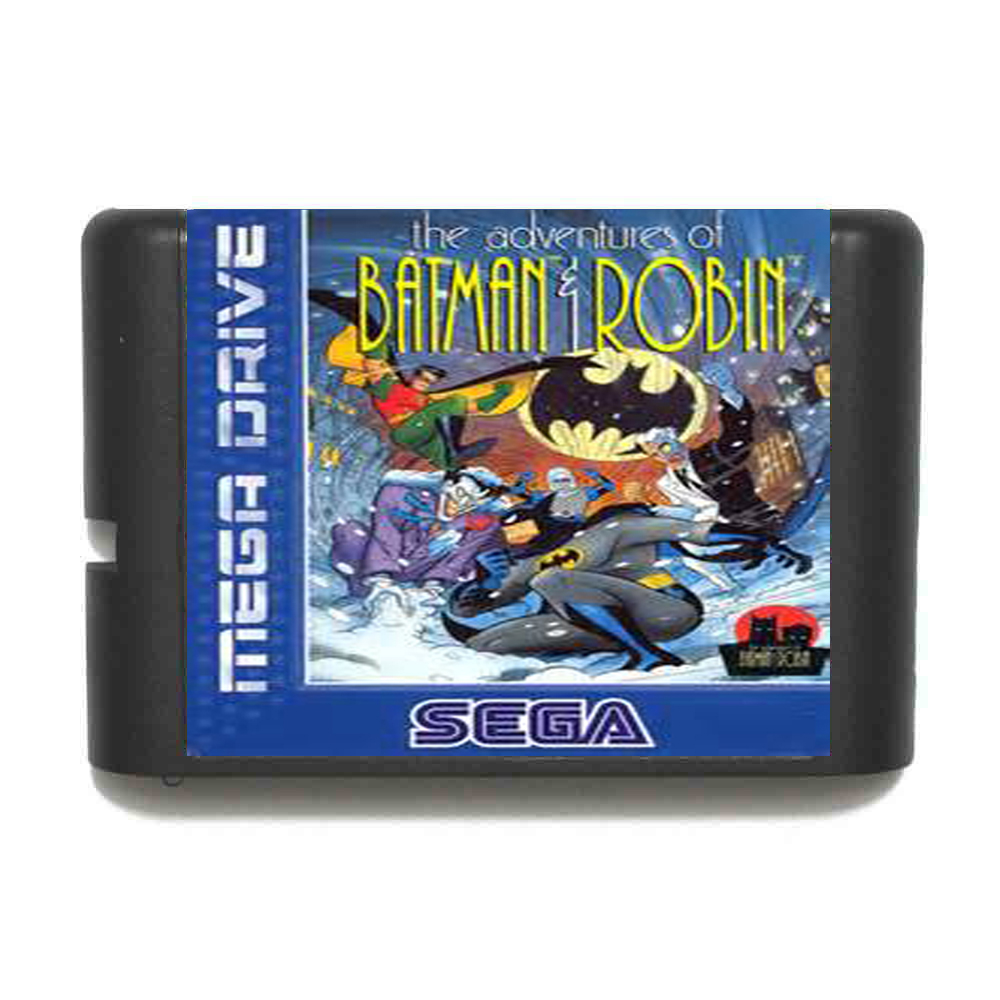 The Adventure Of Batman And Robin 16 bit MD Game Card For Sega Mega Drive For Genesis