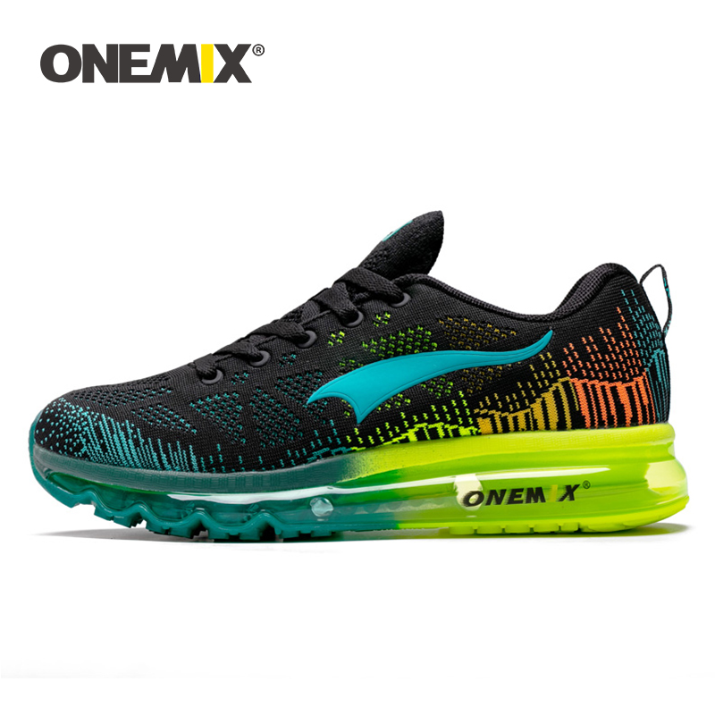 Onemix men s running shoes women s sports sneakers breathable mesh athletic walking shoes size 35