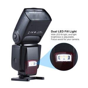 Image 3 - Andoer AD 560 II đèn Flash Có Thể Điều Chỉnh ĐÈN LED Lấp Đầy Ánh Sáng Đa Năng Đèn Flash cho Canon Nikon Olympus Pentax máy ảnh