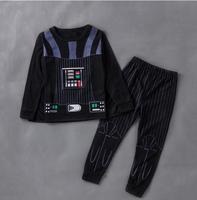Star Wars Darth Vader Cosplay Kids Star Wars Onesies Child Boys Winter Autumn Pajamas Homewear Christmas