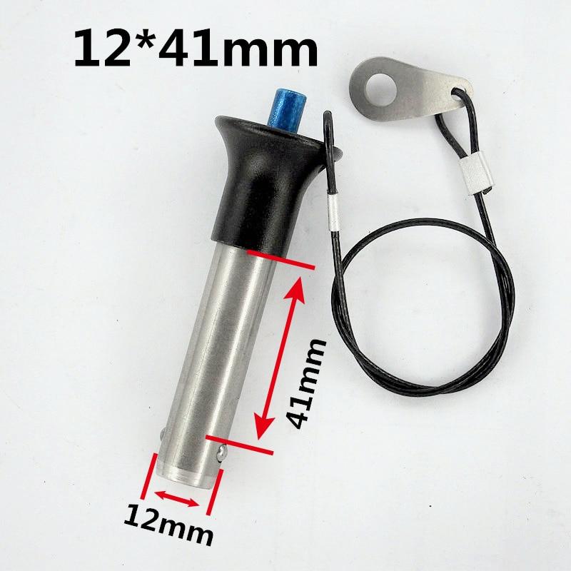 Finlemho 라인 어레이 스피커 액세서리 핀 12x41mm Y1241 전문 오디오 서브 우퍼 DJ 믹서 콘솔 파워 앰프
