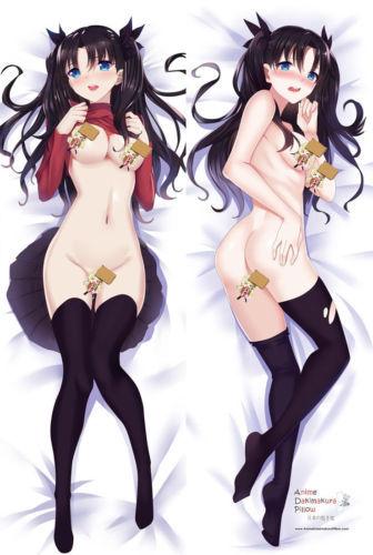 Fate Saber Night Rin Tohsaka Anime Japanese Pillow Cover MGF12099 - chinesegirl5223 store