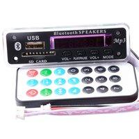 New Bluetooth MP3 Decoding Board Module W SD Card Slot USB FM Remote Decoding Board Module