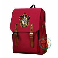 Action figure toy original Harri Potter Bag Hogwarts School Badge suitcase Shoulder bagChristmas Package