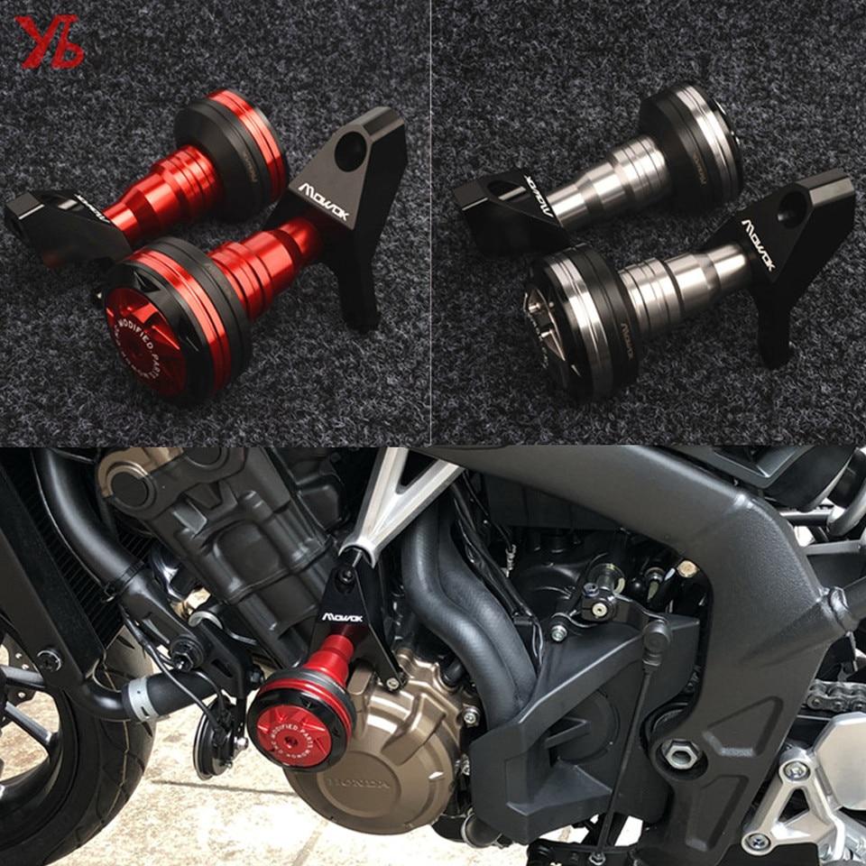 CNC Frame Sliders Crash Protector For Honda CBR650F 2014-2018