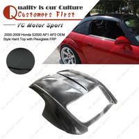 Car Accessories FRP Fiber Glass OEM Style Hard Top Fit For  2000-2009 S2000 AP1 AP2 OEM Style Hardtop with Plexiglass
