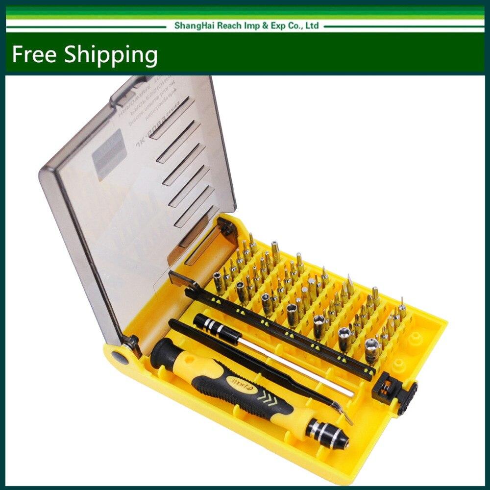 Neue Original Brand 45 in 1 Präzisions-schraubendreher Handy Repair Tool Set Küche Garten MIni Magnetische werkzeuge Kit JK 6089-A