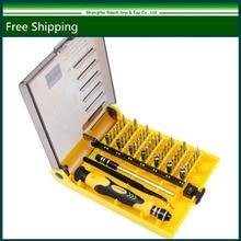 Nueva Marca de Fábrica Original 45 en 1 Destornillador de Precisión Teléfono Celular Repair Tool Set de Cocina herramientas de Jardín MIni Magnética Kit JK 6089-A