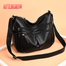 Luxury Handbags Women Bags Designer Multipocket Crossbody Bag For Ladies High Quality Leather Female Shoulder Bag bolsa feminina