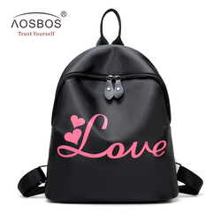 Aosbos women oxford backpack cute waterproof small school backpack bag designer letter print travel backpacks for.jpg 250x250