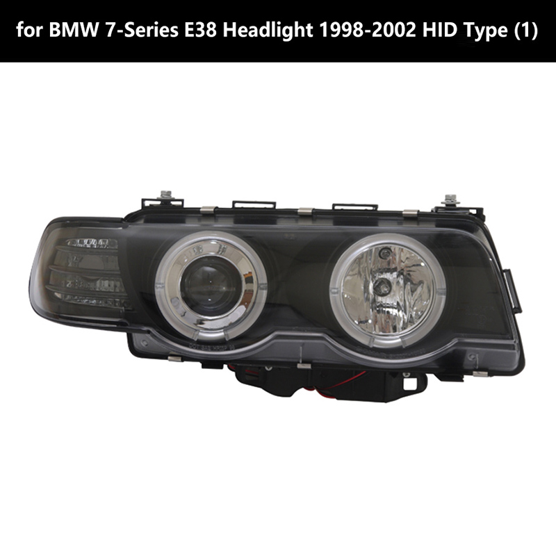 for BMW 7-Series E38 Headlight 1998-2002 HID Type (1)+
