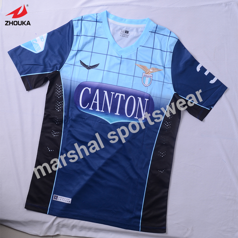 hot sale design with geometric patterns soccer jersey custom your own team jersey cheapest cut and sew soccer jersey for boys full set with socks boys soccer jersey accept oem name and number 100