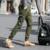 Primavera y Otoño pantalones de la pierna pantalones casuales pie Japonés Coreano pantalones harén pies pantalones bordados 5XL
